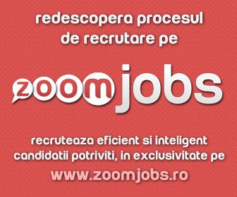 ZoomJobs - cel mai interactiv si modern portal de recrutare din Romania!